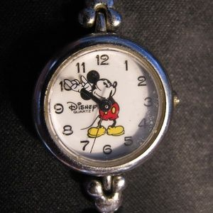 Disney Time Works watch with clasping band